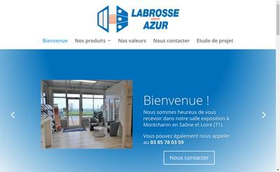 Site internet de Labrosse-Azur