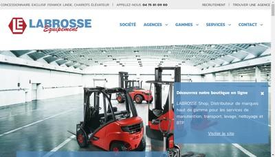 Site internet de Labrosse Equipement