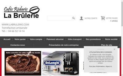 Site internet de La Brulerie