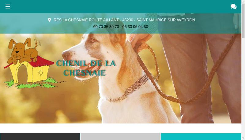Capture d'écran du site de Alain Calvel