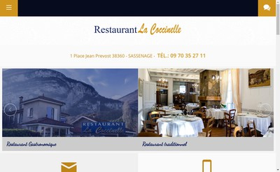 Site internet de SARL Coccinelle
