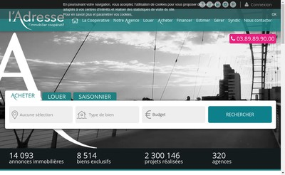 Site internet de Au Pole Immobilier SARL