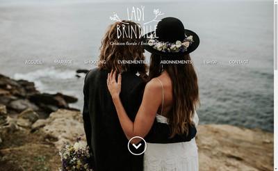 Site internet de Lady Brindille