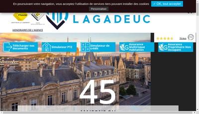 Site internet de Cabinet Lagadeuc