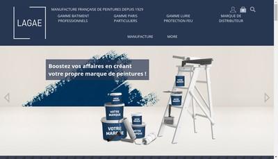Site internet de Lurie et Lagae