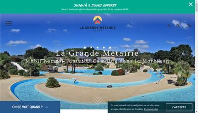 Site internet de Change Metairie