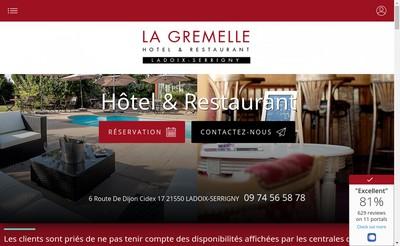 Site internet de La Gremelle