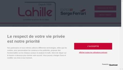 Site internet de Lahille