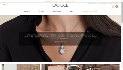 Site internet de Lalique SA