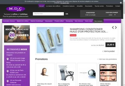 Site internet de Mdc Group