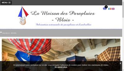 Site internet de La Maison des Parapluies