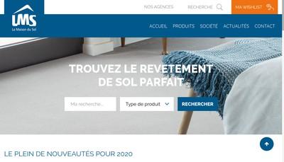 Site internet de LMS la Maison du Sol
