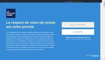 Site internet de Societe d'Edition de la Manche Libre