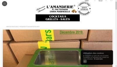 Site internet de L'Amanderie