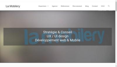 Site internet de La Mobilery