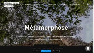Site internet de Omnium Bois et Derives