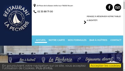 Site internet de SAS la Pecherie
