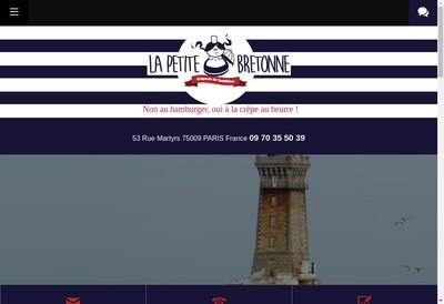 Site internet de La Petite Bretonne