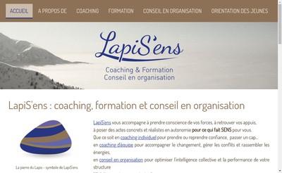 Site internet de Lapis'Ens