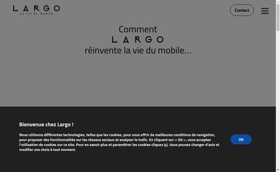 Site internet de Largo