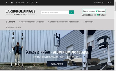 Site internet de La Ribouldingue