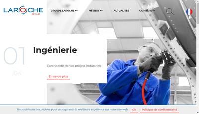 Site internet de Laroche Engineering