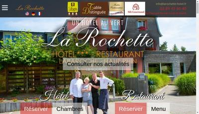 Site internet de La Rochette