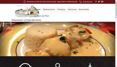 Site internet de La Rose des Vents