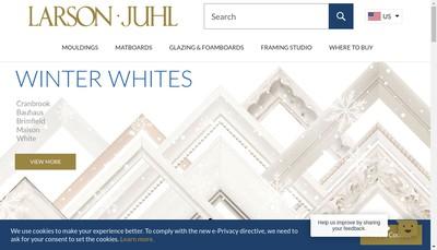 Site internet de Senelar Larson Juhl