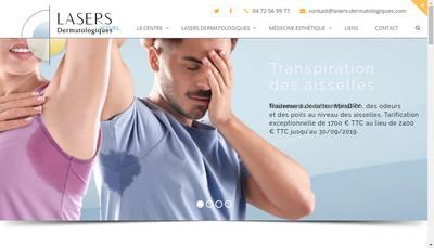 Site internet de Centre Laser Dermatologique