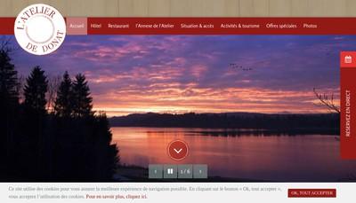 Site internet de L'Atelier de Donat