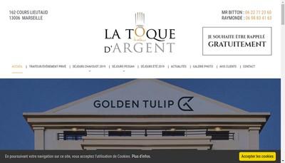 Site internet de La Toque d'Argent