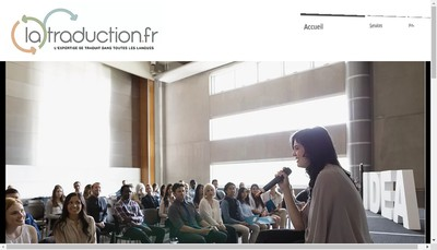 Site internet de Latraduction Fr