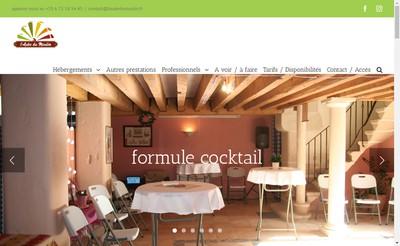 Site internet de L'Aube du Moulin