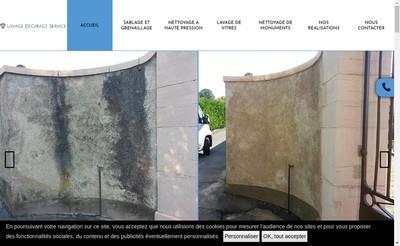 Site internet de Lavage Decapage Service