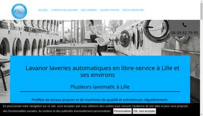 Capture d'écran du site de Lavanor