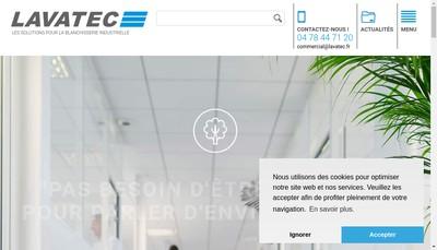 Site internet de Lavatec France