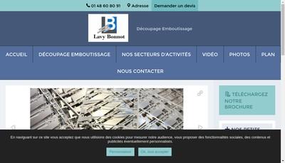 Site internet de Lavy-Bonnot
