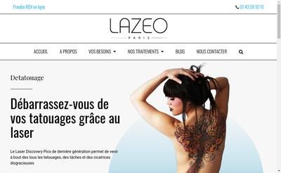 Site internet de Lazeo