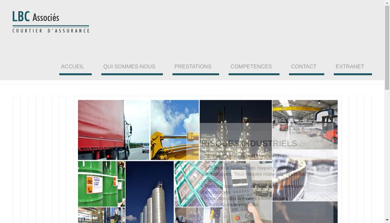 Capture d'écran du site de LBC Associes