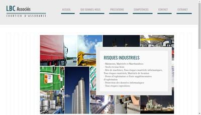 Site internet de LBC Associes