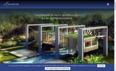 Site internet de Lc Architectes