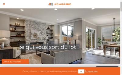 Site internet de Lcd Nord Immo