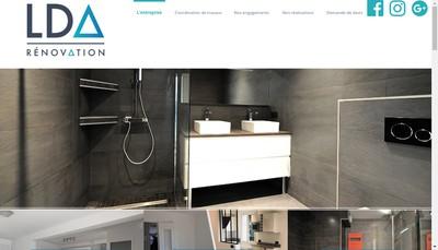 Site internet de Lda Renovation