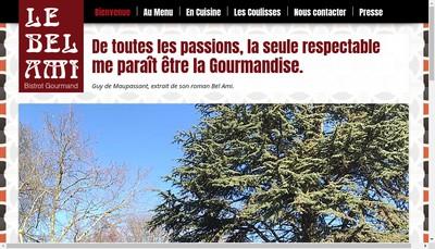 Site internet de Le Bel Ami