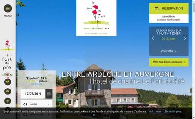 Site internet de Le Fort du Pre