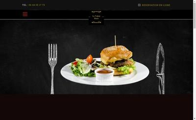Site internet de Le Valois Restaurant