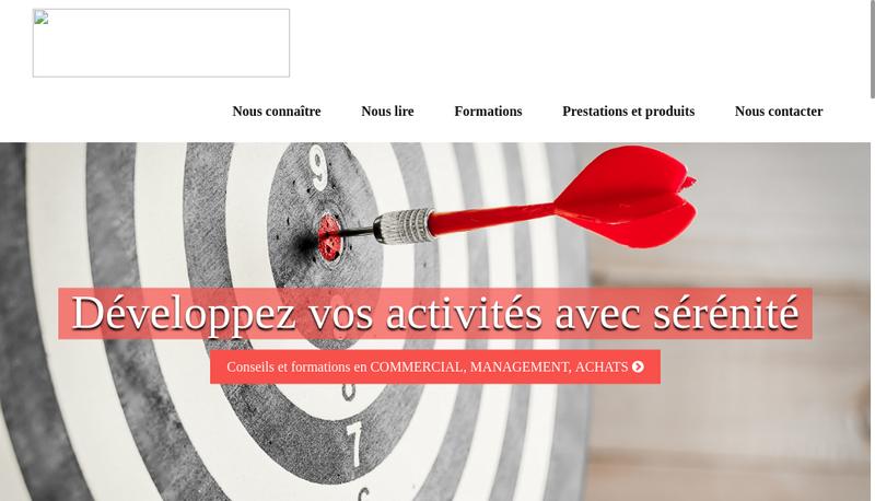 Capture d'écran du site de LeadCRM