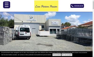 Site internet de Leau Peinture Passion
