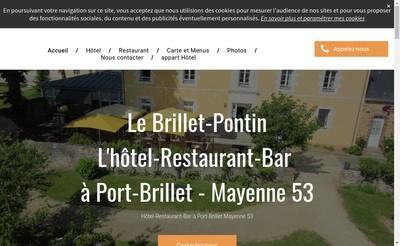 Site internet de Le Brillet Pontin